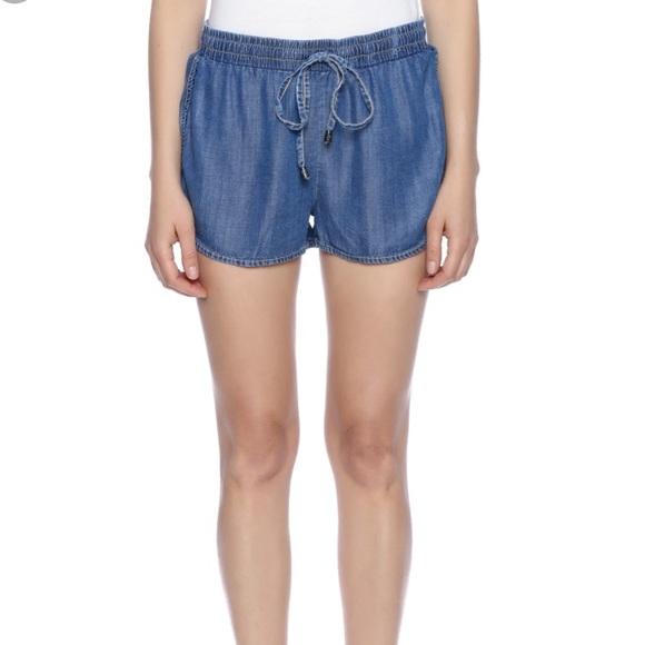 2a15fa489695 lovestitch Shorts | Chambray Drawstring Nwt | Poshmark